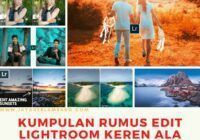 kumpulan rumus edit lightroom